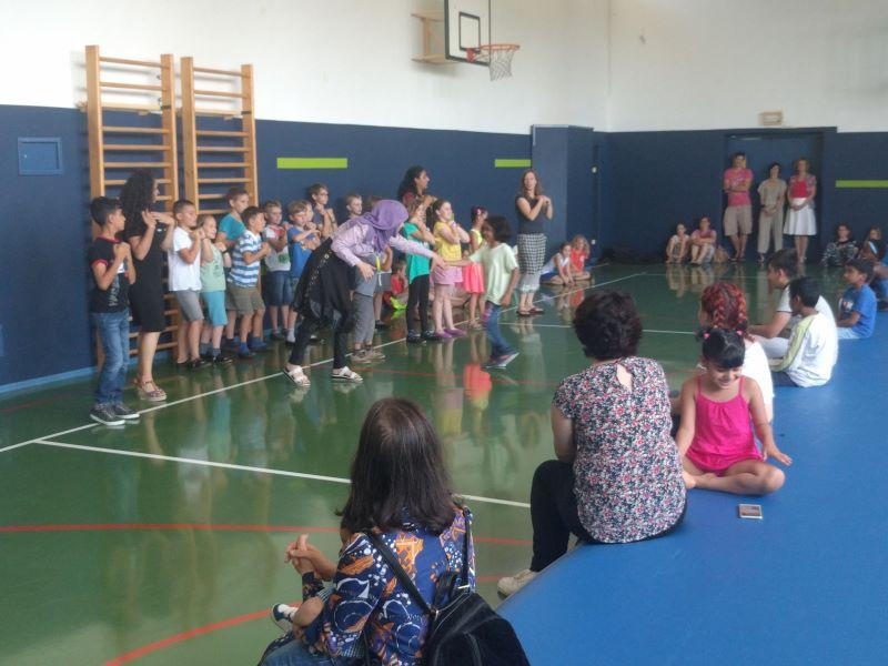 Obisk otrok iz Azilnega doma Vič