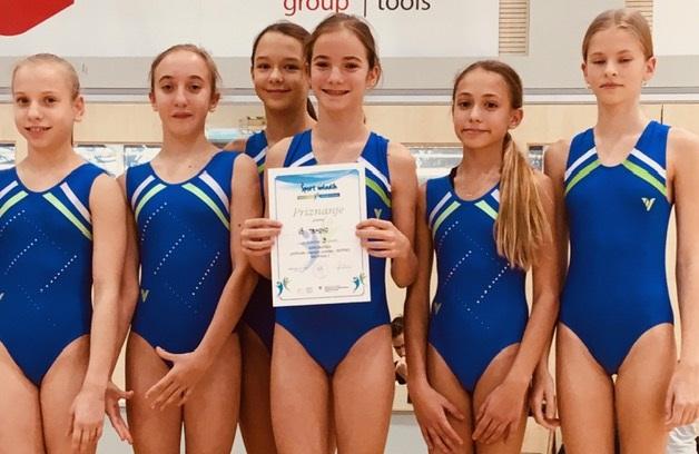Uspehi naših gimnastičark