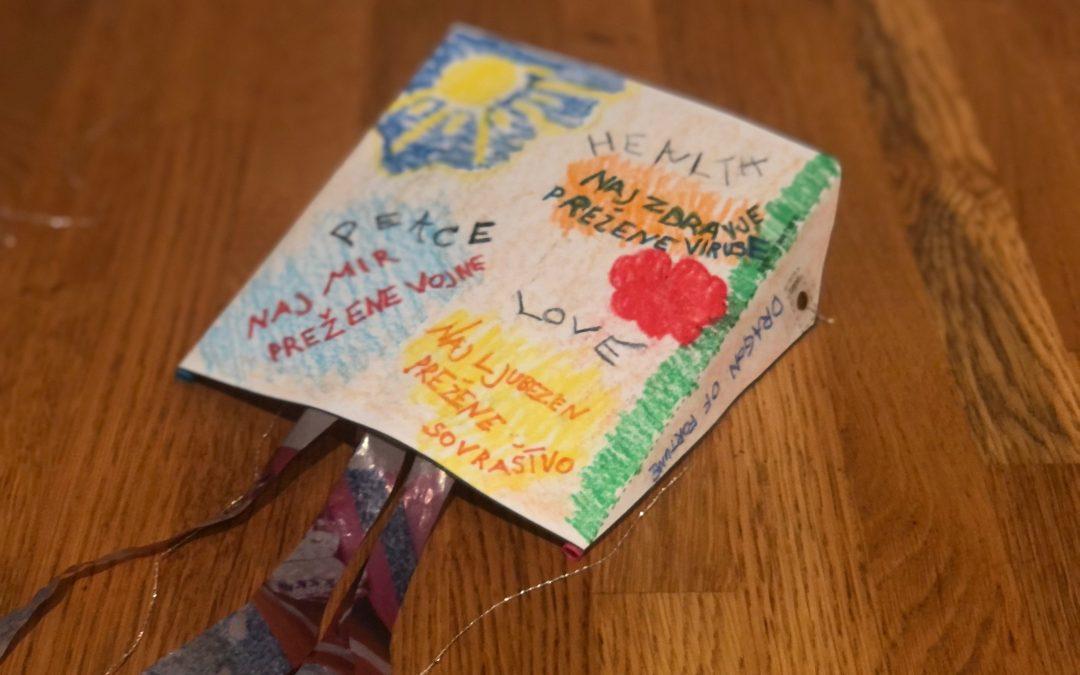Talking kites around the world