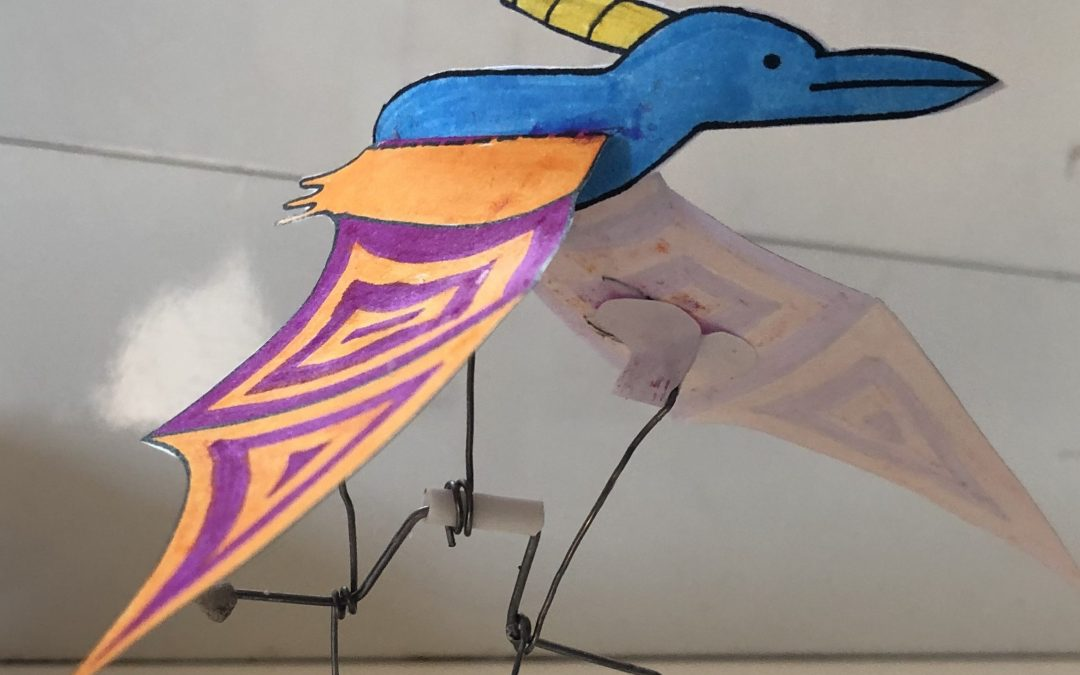 V Trnovem opažen pterodaktil