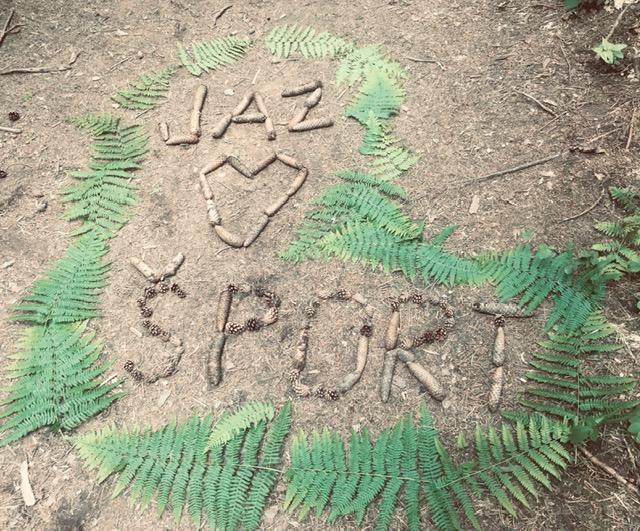 """Športni """"Land art"""""""