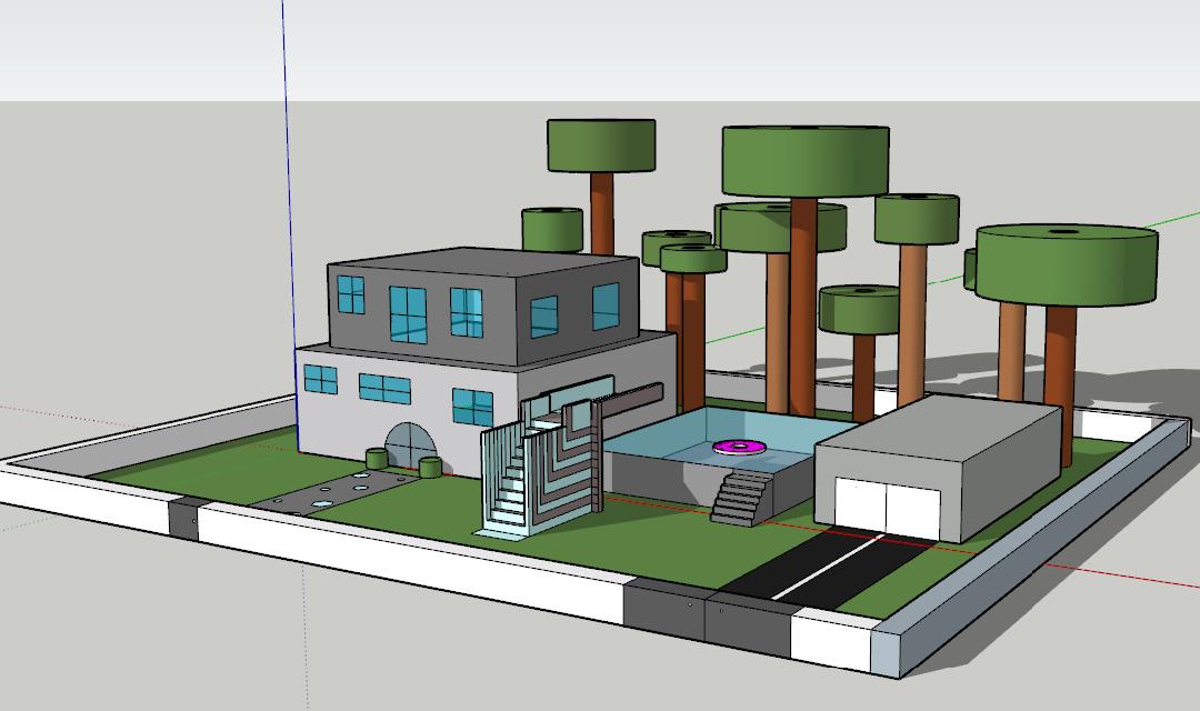 3D risanje pri urah Tehnike in tehnologije
