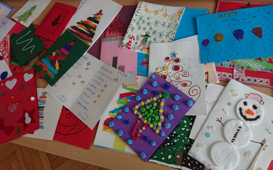 Mednarodni  iEARN projekt: Holiday Card Exchange